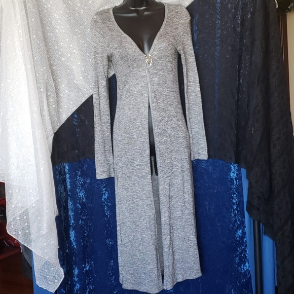 Bozzolo Sweaters - Bozzolo Maxi Cardigan  Size Medium